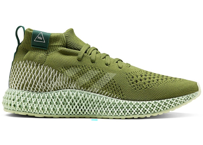 adidas 4D Runner Pharrell Tech Olive