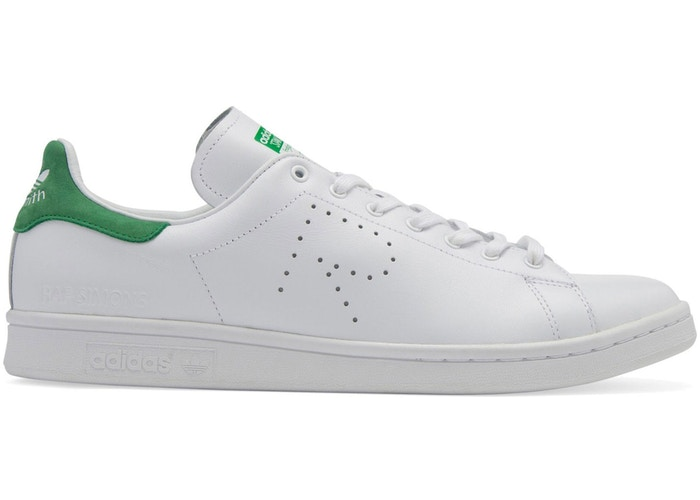 adidas Stan Smith Raf Simons White Green