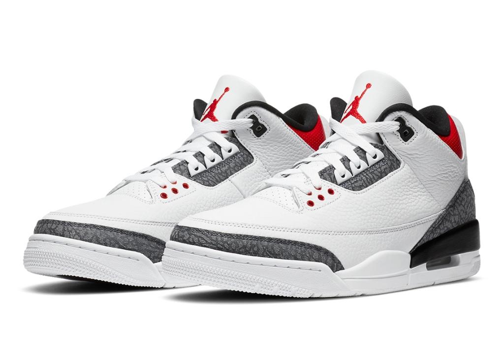 Japan-Exclusive Air Jordan 3 Retro SE Denim Features Custom Heel Logos