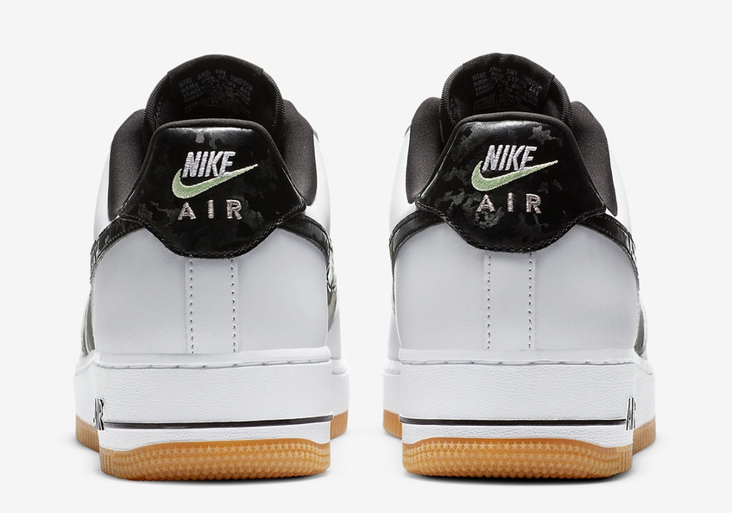 Nike Air Force 1 with Ripstop Camo Tongues And Mid-Panels